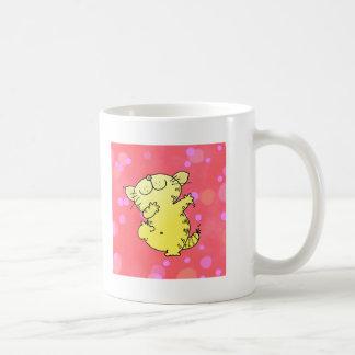 Dancing Kitten Classic White Coffee Mug