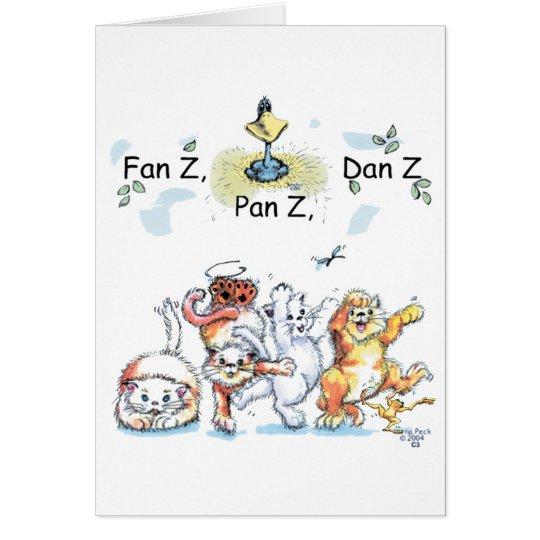 Dancing Kitties Card