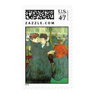 Dancing Ladies Postage