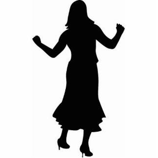 dancing lady statuette