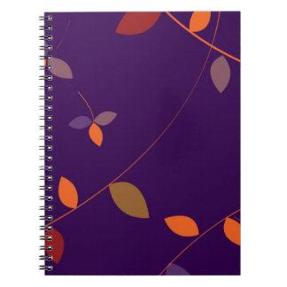 Dancing Leaves Notebook