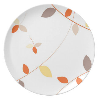 Dancing Leaves Plates