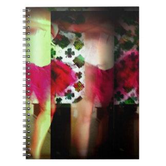 Dancing Legs 2 Spiral Notebooks