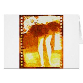Dancing Legs Card