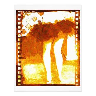 Dancing Legs Customized Letterhead
