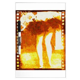 Dancing Legs Dry Erase Whiteboard