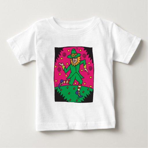 Dancing Leprechaun Dude T Shirt