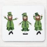 Dancing Leprechauns Mouse Pad