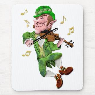 Dancing Leprechauun Mouse Pad