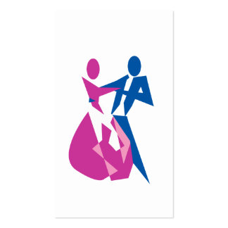 Dancing lessons business card
