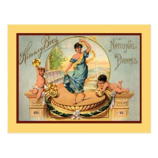 Dancing Lessons Postcard