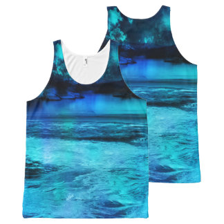 Dancing Lights All-Over-Print Tank Top
