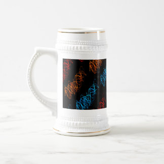 Dancing Lights by Shirley Taylor Beer Stein
