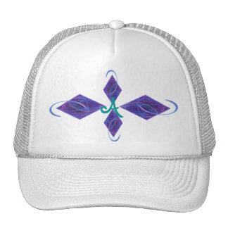 Dancing Lights Fractal Art Trucker Hat