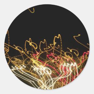 Dancing Lights Stickers