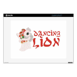 "Dancing Lion 15"" Laptop Skins"