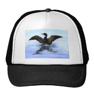 Dancing Loon by Jane Freeman Trucker Hat
