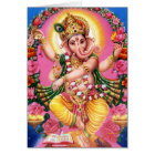 Dancing Lord Ganesha Card
