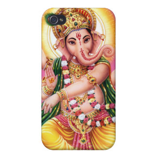 Dancing Lord Ganesha iPhone 4/4S Covers