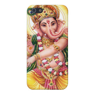 Dancing Lord Ganesha iPhone 5/5S Cases