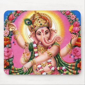 Dancing Lord Ganesha Mouse Pads