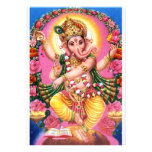 Dancing Lord Ganesha Personalized Invite