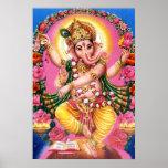 Dancing Lord Ganesha Poster