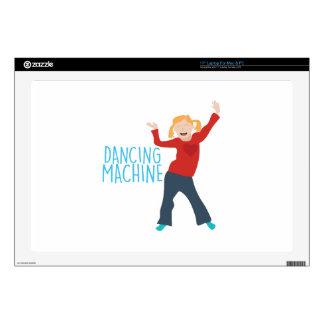 """Dancing Machine 17"""" Laptop Decals"""