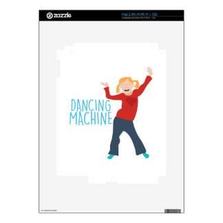 Dancing Machine Decals For iPad 2