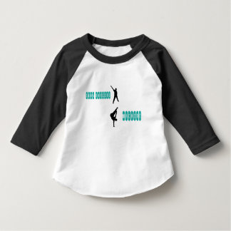dancing machine toddler t-shirt