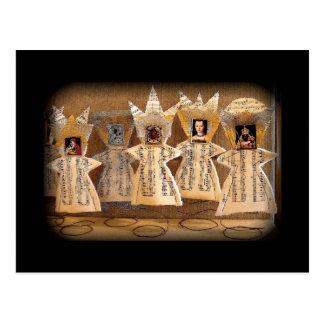 Dancing Madonna Chorus Line Postcard