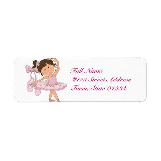 Dancing Mailing Labels