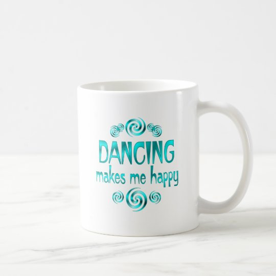 Dancing Makes Me Happy Coffee Mug