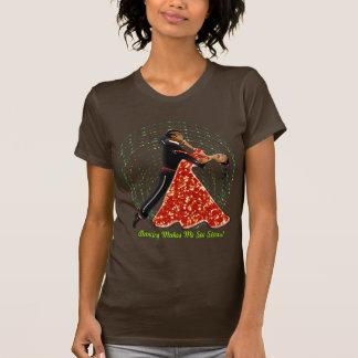 Dancing Makes Me See Stars! (Ladiest T-Shirt) T-Shirt