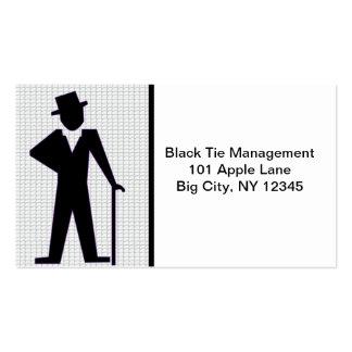 Dancing Man Business Card