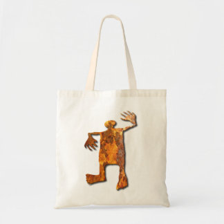 Dancing Man rust Tote Bag