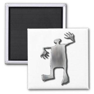 Dancing Man stainless steel Fridge Magnets