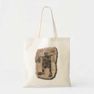 Dancing Man stone Tote Bag
