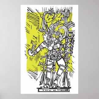 Dancing Maya Print