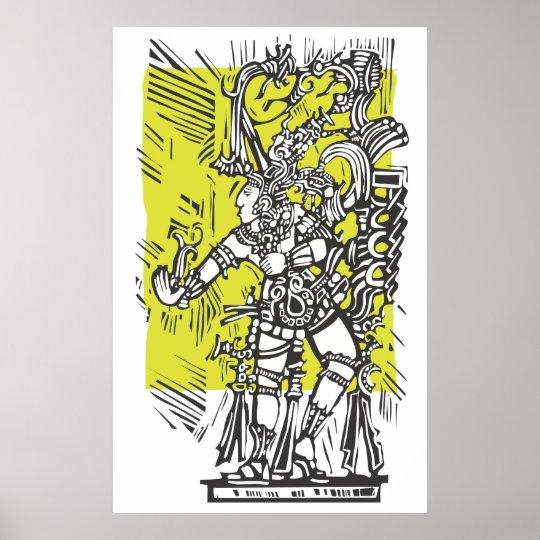 Dancing Maya Poster