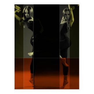 Dancing Mirrors Postcard