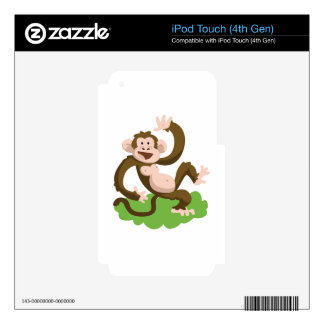 dancing monkey iPod touch 4G skin