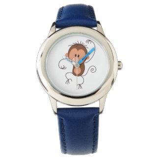 Dancing Monkey Kids Adjustable  Strap Watch