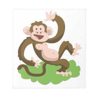 dancing monkey notepad