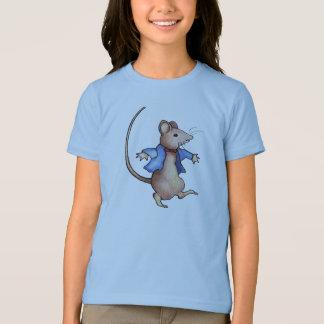 Dancing Mouse, After Beatrix Potter: Color Pencil T-Shirt
