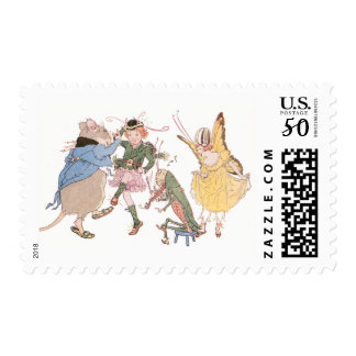 Dancing Mouse and Fairies Postage