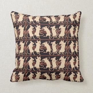 Dancing Mouse Designer Pillow