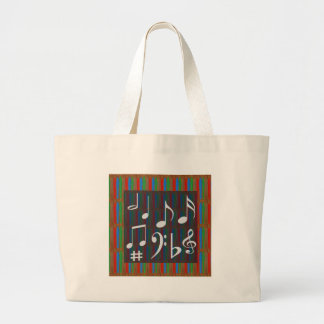 Dancing Music Symbols Fans Students Masters Player Bags