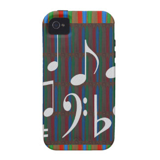 Dancing Music Symbols Fans Students Masters Player Vibe iPhone 4 Case
