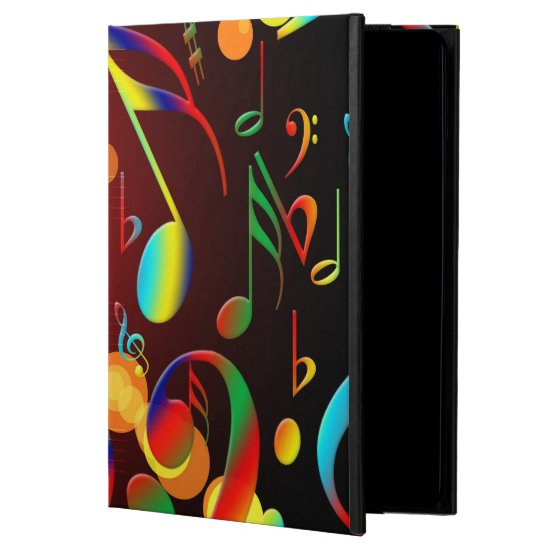Dancing Musical Notes Cover For iPad Air
